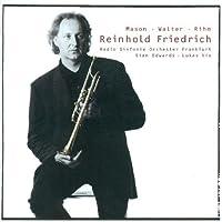Trumpet Cons by Reinhold Friedrich (2001-07-24)