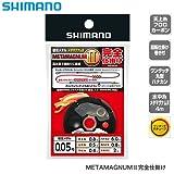 シマノ メタマグナムII 完全仕掛け ブラック 0.07号 RG-AB1Q