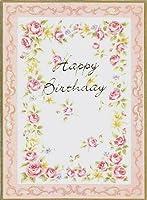 バースデーカード フラワー64誕生日カード