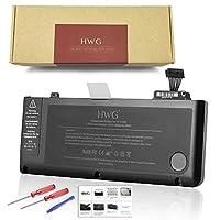 "HWG ノートパソコン バッテリー APPLE MacBook Pro 13"" (A1322) 【A1322 A1278 (2009年 2010年 2011年) 661-5229 661-5557 020-6547-A MB990LL/A MB991LL/Aに対応】"