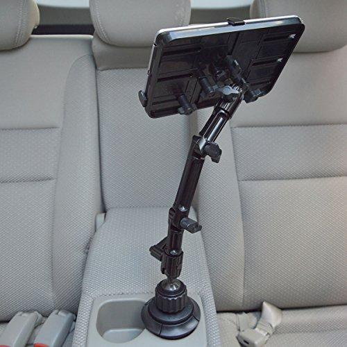 サンコー『車載がっちりタブレットカップホルダー』