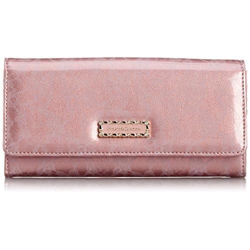 [ピンキーアンドダイアン] Pinky&Dianne レースエナメル 薄型長財布 PDLW5GT2 48 (ピンク)
