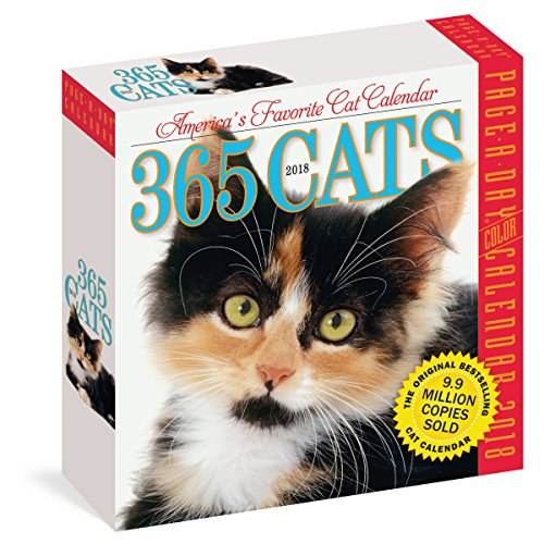 365 Cats 2018 Calendar