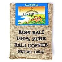 KupuKupu クプクプ インドネシア 高品質 アラビカ コーヒー豆 麻袋 100g バリコーヒー Bali Kopi 中細挽き Medium Fine Grind [海外直送品]