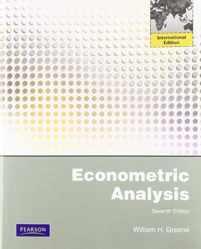 Econometric Analysis. William H. Greeneの詳細を見る