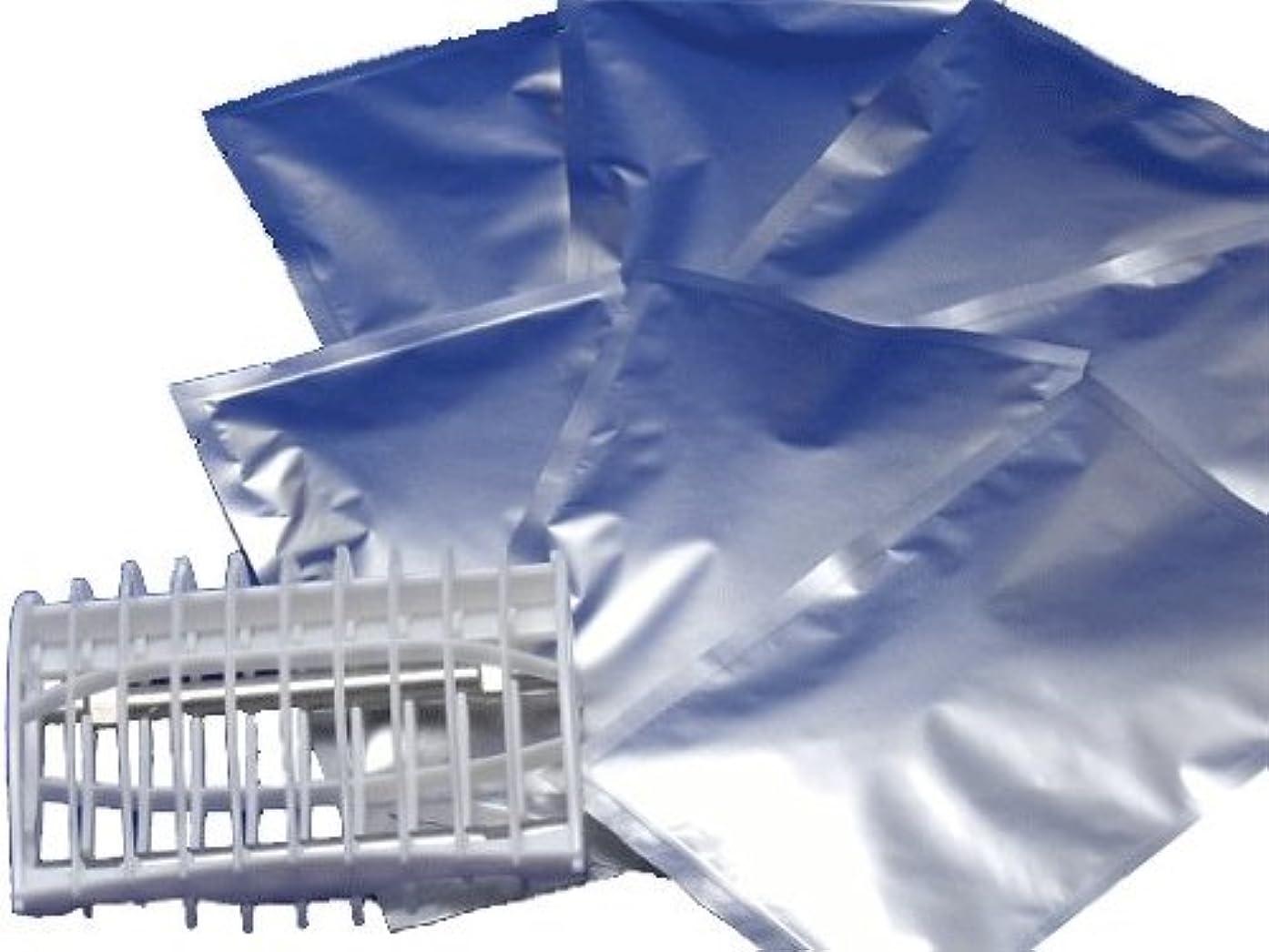 十分敬揃えるトルマリン水素 ハイドロゲンバブルバス 7個 専用ケース付 水素風呂