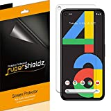(6 Pack) Supershieldz for Google Pixel 4a Screen Protector, Anti Glare and Anti Fingerprint (Matte) Shield