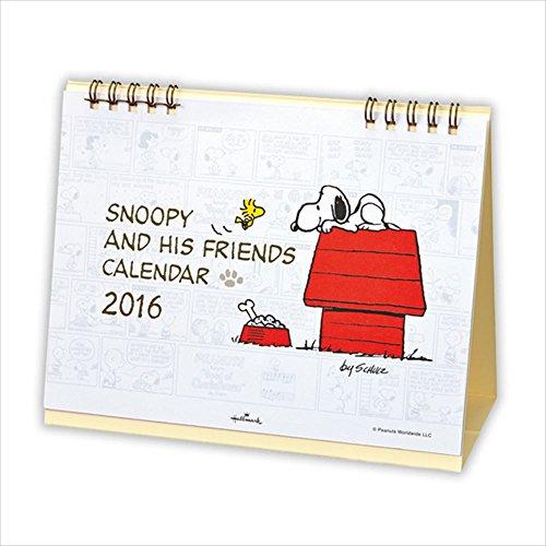 日本ホールマーク スヌーピー 2016年 カレンダー 卓上 小 690540