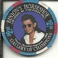 $ 2.50 Binions Horseshoe Thuan Scotty NguyenラスベガスポーカーカジノチップObsoleteヴィンテージ