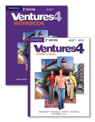Download Ventures Level 4 Value Pack (Student's Book with Audio CD and Workbook with Audio CD) 1107649242