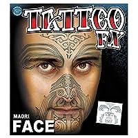 コスプレ衣装/コスチューム・Tinsley・Transfers・Maori・タトゥーシール