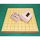 (即納)●将棋セット 新榧 1寸 卓上将棋盤  木製将棋駒