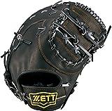 ZETT(ゼット) 野球 軟式 ファースト ミット ウイニングロード (右投げ用) BRFB33713 ブラック
