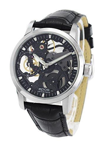 エポス EPOS 腕時計 エモーション スケルトン メンズ 3424BSKBK[並行輸入品]