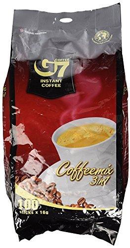 NGUYEN TRUNG NGUYEN チュングエン G7 16g×100袋入り インスタント ホット アイス コーヒー 3in1 ベトナムコーヒー