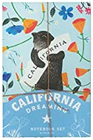 California Dreaming Notebook Set (California Gifts, Notebook Collection, Journal Set)