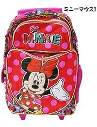 Disney ディズニー ミニーマウス 子供用旅行かばん ローリングバッグ キャスターバッグ コロコロ-ミニーマウス1