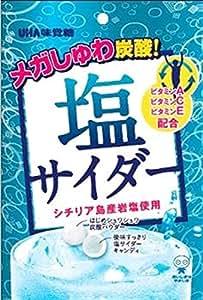 味覚糖 塩サイダー 66G×6袋