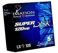 Imation SuperDisk 120MB Windows / DOS / IBM Formatted ( 5- Pack )