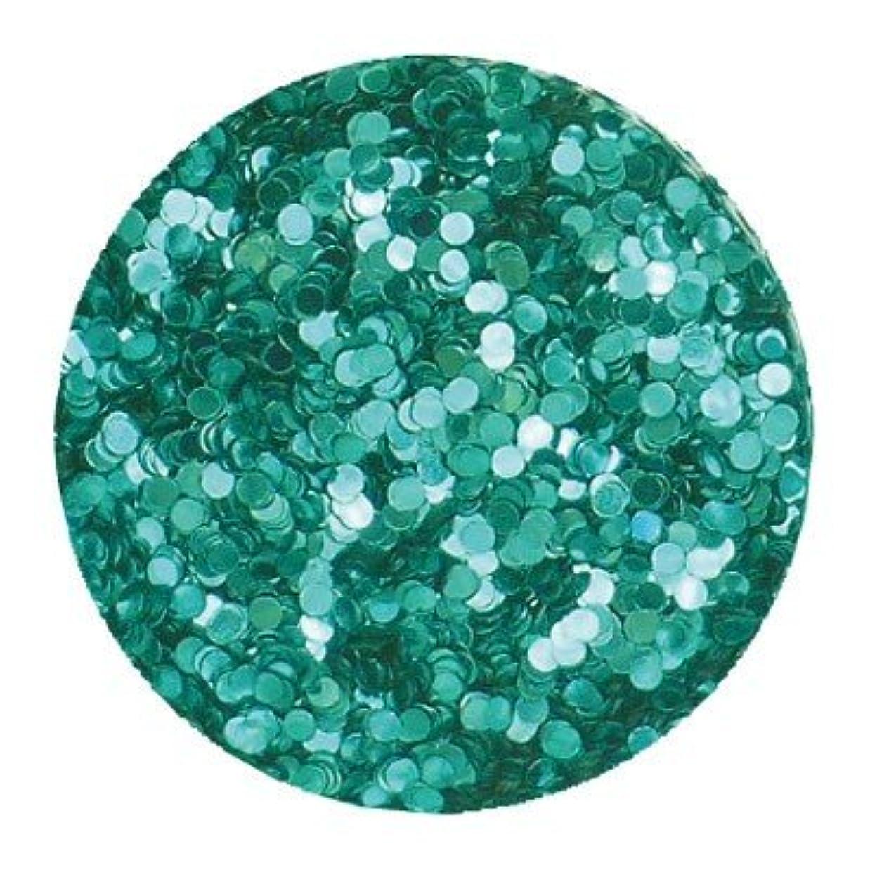 ユーモラスエコー樫の木エリコネイルメタリックブルーグリーン1mm