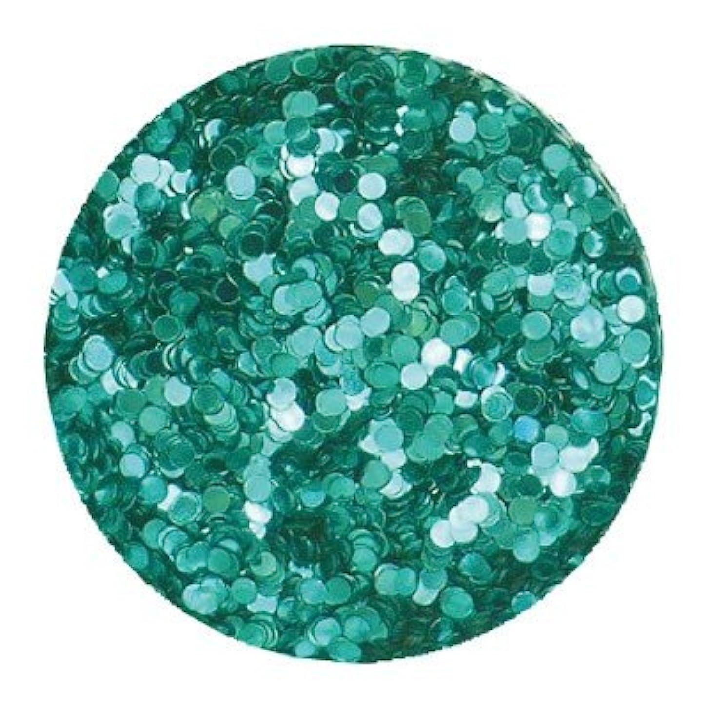 住む人工ちっちゃいエリコネイルメタリックブルーグリーン1mm