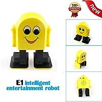 e1電子スマートウォーキングダンスロボット音楽ダンスのおもちゃ、40セットMoves for Kids Boy Girl幼児用、内蔵App Bluetooth 4.2スピーカー、リチウムバッテリー含ま