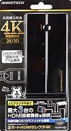 多機種対応HDMIセレクタ『3ポートHDMIセレクタ4K』 -SWITCH PS4 WiiU-
