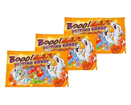 【3袋セット】 ハロウィン ポッピングキャンディ ミックスバッグ × 3袋
