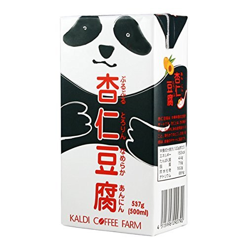カルディオリジナル パンダ杏仁豆腐 537g 【季節限定販売】