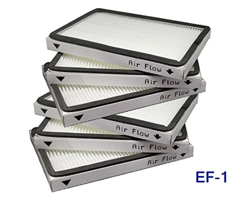 Eshoppercity HEPAフィルター 6個 Kenmore EF1 86889 471186 38512用 40324 Vacuum EF-1