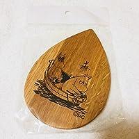 ムーミンカフェ 限定 カナル店 10周年 オリジナル 木製 コースター キッチン雑貨 北欧雑貨 キッチン用品