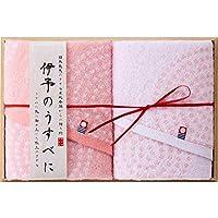 ≪出産内祝 結婚内祝 新築内祝 内祝 プレゼント ギフト≫ 今治製タオル 伊予のうすべに フェイスタオル2P(木箱入)
