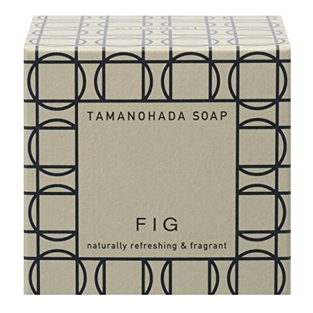 誇りに思う限りなく消毒するタマノハダ ソープ 005 フィグ 125g