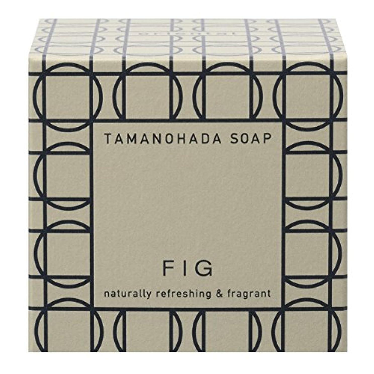 受粉する刃更新するタマノハダ ソープ 005 フィグ 125g
