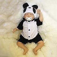 リボーンボディシリコーンビニールドール寝袋赤ちゃん18インチ磁気口完全生きている赤ちゃんリアルビニールベリー子供玩具子供誕生日ギフト缶