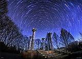 500ピース ジグソーパズル KAGAYA めぐる星々と神殿 (38x53cm)