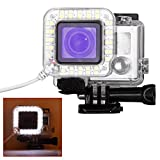 Amazon.co.jpGoPro Flash LED Lights , TFSeven 22 LED Ring Light Flash (Gopro LED Ring ) USB Lens Ring LED Flash Light Shooting for Gopro Hero 4 3+ 3 Standard Waterproof Housing Case [並行輸入品]