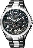 [シチズン]CITIZEN 腕時計 ATTESA アテッサ エコ・ドライブ電波時計 30周年記念限定モデル AT8165-51E メンズ