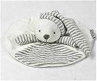 赤ちゃん 寝かしつけ用 くま うさぎ おしゃぶりタオル やわらか手触り ドゥドゥ (くま)