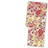 (玉城ティナ×キスミス) ブランド浴衣【レッド 赤 紅型調 金魚 15046】単品