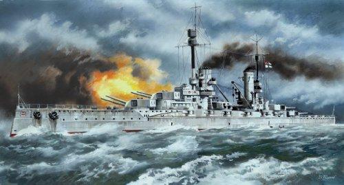 ICM 1/350 ドイツ第一次世界大戦 ド級戦艦 クロンプリンツ プラモデル