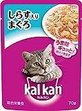 カルカン パウチ 成猫用 1歳から しらす入りまぐろ 70g×16袋 (まとめ買い) [キャットフード]