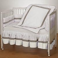 Baby Doll Bedding Classic II Cradle Bedding Set, Ecru by BabyDoll Bedding