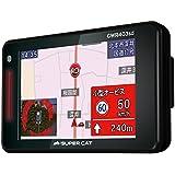 ユピテル 最上位フルマップレーダー探知機 GWR403sd GPSデータ14万件以上 小型オービスレーダー波受信 OBD2接続 GPS/一体型/フルマップ表示/静電式タッチパネル GWR403sd