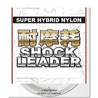 ヤマトヨテグス(YAMATOYO) リーダー 耐摩耗 ショックリーダー ナイロン 30m 1.5号 6lb クリア