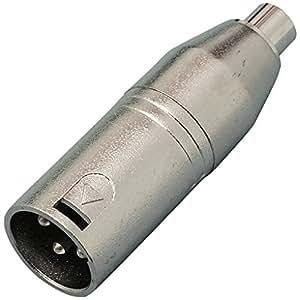 KC 変換コネクター XLR(M)/RCA(F) CA315