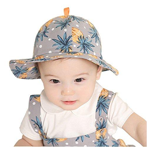Cuby 帽子 キッズ キャップ コットンハット お出かけ用 赤ちゃん 男の子 女の子 兼用 保育園...