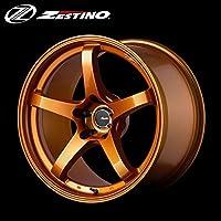 ゼスティノ ZESTINO N637 9.5J-18 +12 5H-114.3 ホイール 2本 [パッションオレンジ]