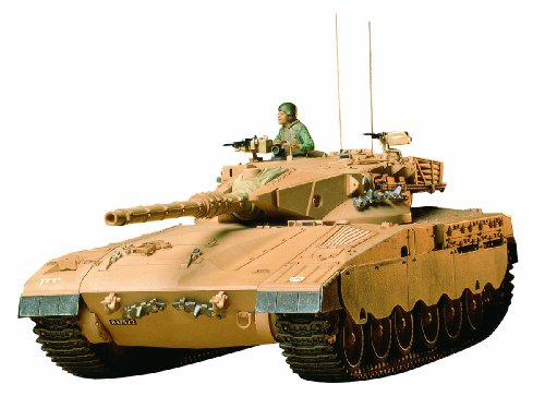 Tamiya 1/35 military miniature series No.127 Israel Army Merkava main battle tank plastic model 35127