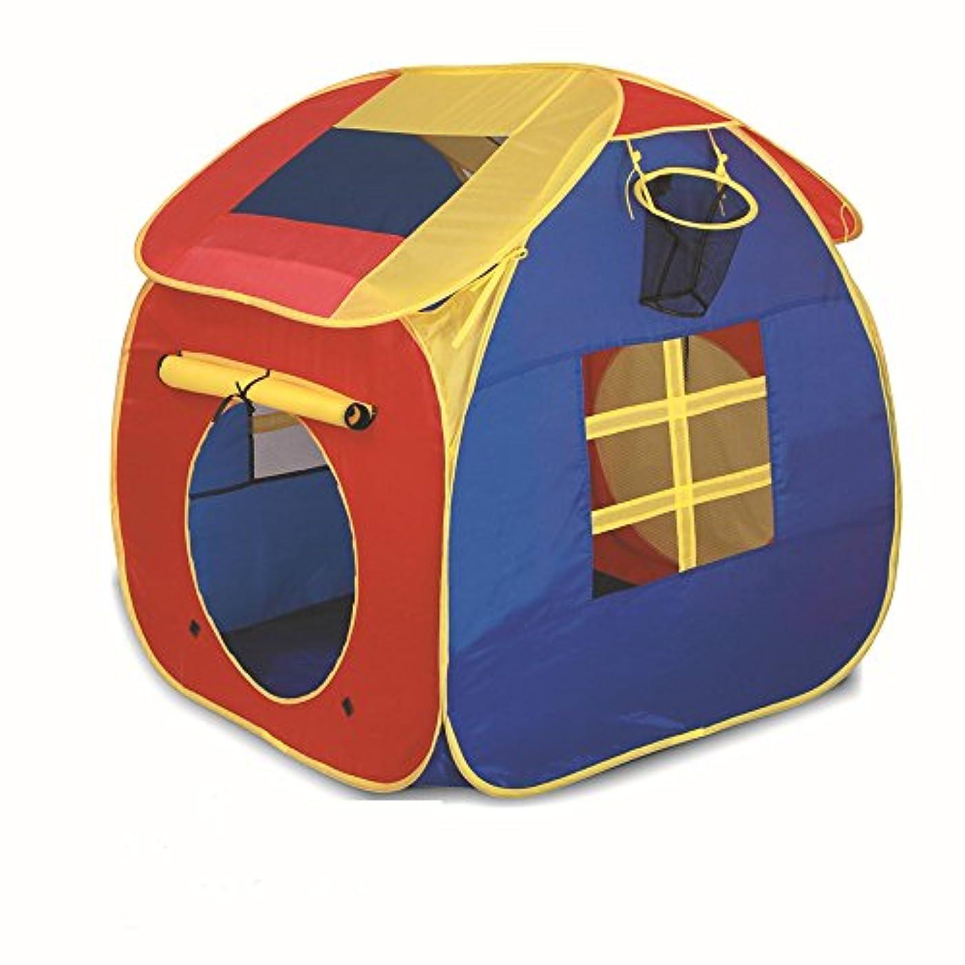 同情スカリーカリキュラム子供テント 子供ハウス ボールハウス キッズテント 子供遊ぶテント 折り畳み式 収納バッグ付き